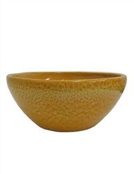 Glazed Low Bowl - Honey