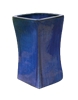 XL Tall Stable Square Planter - Blue Cloud