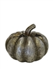 Resin Silver Pumpkin