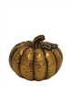 Resin Copper Pumpkin