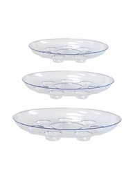Carpet Saver Heavy Footed Saucer (Click for Sizes & Pricing)