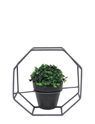 Metal Art Octagon Frame, Single Pot