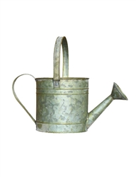 Tin Verdigris Watering Can w/ Liner (Click for Sizes and Pricing)