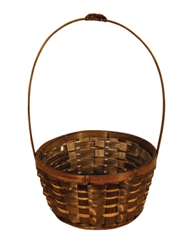 Bamboo Basket w/ Handle & Liner (Click for Sizes and Pricing)