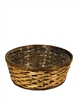 Round Rattan Stain Bowl w/ Liner (Click for Sizes and Pricing)