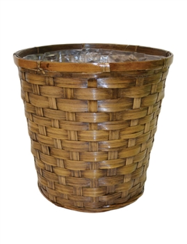 Stained Bamboo Pot Cover
