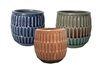 "3.6"" Lineage Stoneware, No Hole, 3 Colors (9/case)"