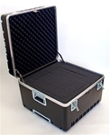 222214AH HEAVY-DUTY ATA CASE WITH WHEELS AND TELESCOPING HANDLE