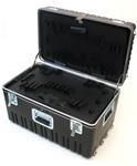 555TH-XGHXEH TRANSPORTER TOOL CASE WITH WHEELS AND TELESCOPING HANDLE