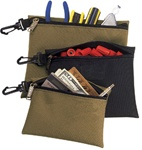 CLC1100 3 MULTI-PURPOSE, CLIP-ON, ZIPPERED BAGS