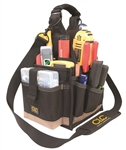 "CLC1526 25 Pocket - 8"" Electrical & Maintenance Tool Carrier"