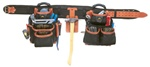 CLC51452 27 POCKET 4 PIECE TOP-OF-THE-LINE PRO-FRAMER'S COMBO SYSTEM