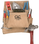CLCI823X 8 POCKET SUEDE NAIL & TOOL BAG