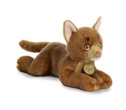 "Abyssinian Cat Miyoni Collection 11"" Long"