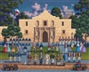 The Alamo Dowdle Folk Art 500 Piece Puzzle