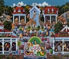 Day at the Zoo Dowdle Folk Art 500 Piece Puzzle