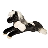 "Leighton Floppy Pinto Horse by Douglas Cuddle Toy 23"" Long"