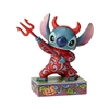 "Jim Shore Enesco Disney Traditions Halloween Stitch as Devil 5.75"" H"
