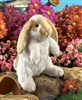 "Standing Lop Earred Rabbit Puppet 12"" H"