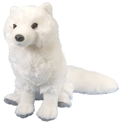 "Arctic Fox  Plush Toy 12"" L"