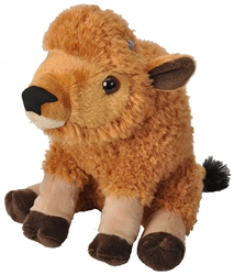 "Bison Calf Wild Republic 11.5"" Long with tail"
