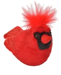 "Cardinal with sound Audubon II collection 5"" H 5"" Long"