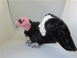 "California Condor Cuddlekins 21"" Wide Wingspan"