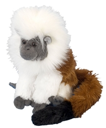 "Cotton Top Tamarin Cuddlekins 8"" H"
