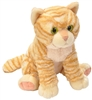 "Orange Tabby Cat Pet Shop Collection 10.5"" H"