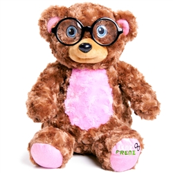 "Big Pink Teddy Glasses Holder 15""h"