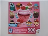 Cupcakes II  12  Mini Shaped Puzzles  500 Piece Total by Lafayette Puzzle Company
