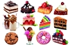 Desserts 12 Mini Shaped Puzzles  500 Piece Total by Lafayette Puzzle Company