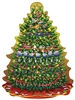Big Twelve Days of Christmas Tree 500 Piece Shaped Puzzle