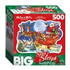 Big Santa's Sleigh 500 Piece Shaped Puzzle