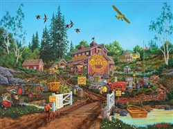 Antique Barn 1000 Piece Puzzle