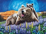 Blueberry Bears 1000 Piece Puzzle