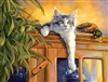 Observation Post Fancy Cat 500 Piece Puzzle