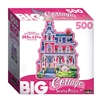 Big Cottage - Rose Trellis Inn 500 Piece Shaped Puzzle