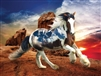 Heavenly Horses Into the Sunset 300 Piece  Jigsaw Puzzle by Lafayette Puzzle Factory
