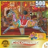 Merry Go Round 500 Piece  Jigsaw Puzzle by Lafayette Puzzle Factory