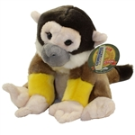 "Heirloom Floppy Squirrel Monkey 9"" H"
