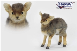 "Antelope Plush Toy by Hansa 11"" H"