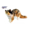 "Hansa Calico Cat with Longhair 12"" High"