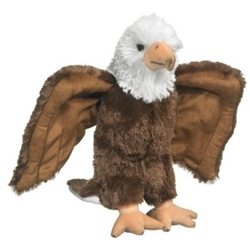 "Bald Eagle Plush Toy 14"" H"