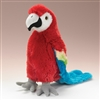 "Scarlet Macaw by Wildlife Artists 12"" H"