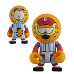 "Garfield Baseball Player Trexi Figurine 2.5"" H"