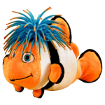 Bubblez Clown Fish Zibbie with Koosh Head