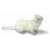 "Hansa White Ferret 13"" long without tail"