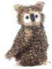 Hansa Young Brown Owl with Moving Head