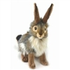 "Hansa Blacktail Rabbit 10"" H"